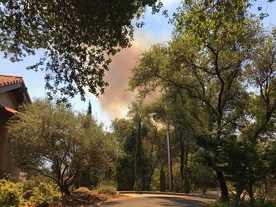 Evacuations, Road Closures Lifted For Auburn Fire