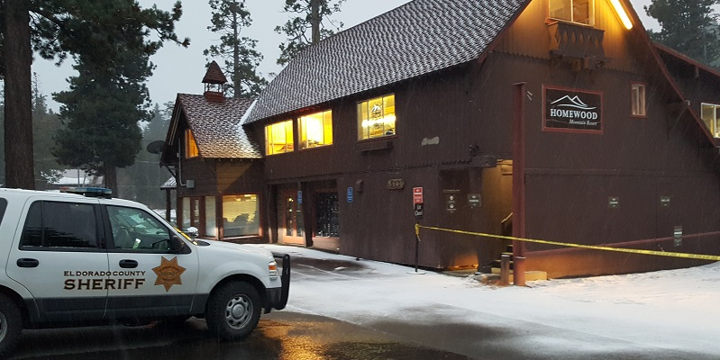 Suspicious dying suspect arrested at Lake Tahoe ski resort