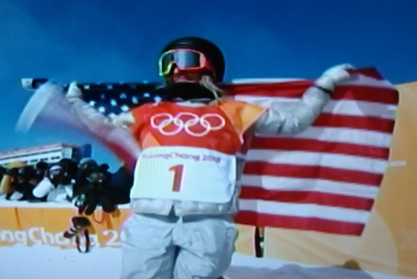USA Snowboarder Jamie Anderson wins Ladies Slopestyle