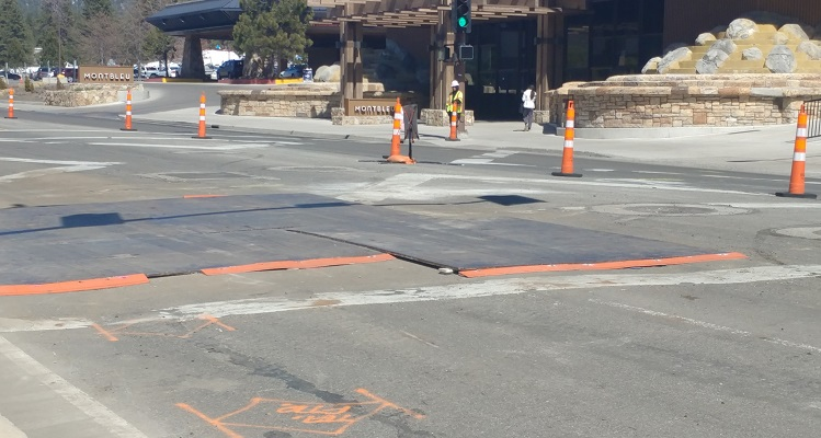 Utility explosion closes Highway 50 at Stateline in Lake Tahoe