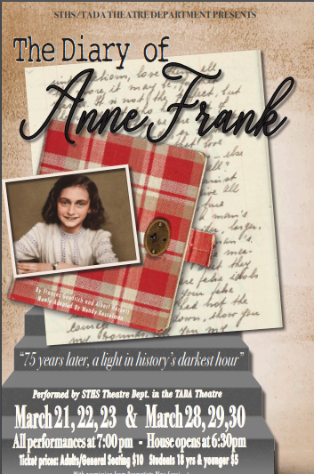 Two weekends of South Tahoe HIgh's production of The Diary of Anne Frank
