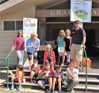 Free food for South Lake Tahoe youth all summer with Bread & Broth 4 Kids program