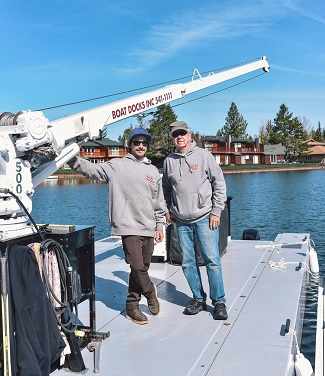 South Lake Tahoe native returns home and is new owner of Boat Docks Inc