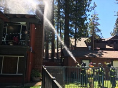 South Lake Tahoe fire displaces residents of three apartments