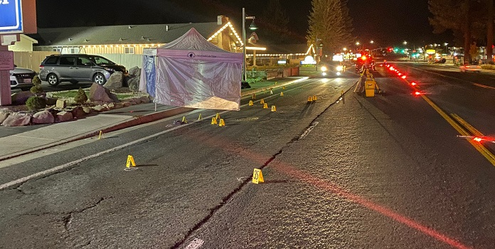 Pedestrian killed in South Lake Tahoe hit-and-run collision