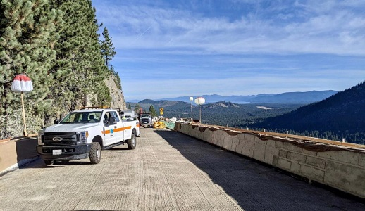 US50 over Echo Summit to reopen Sunday